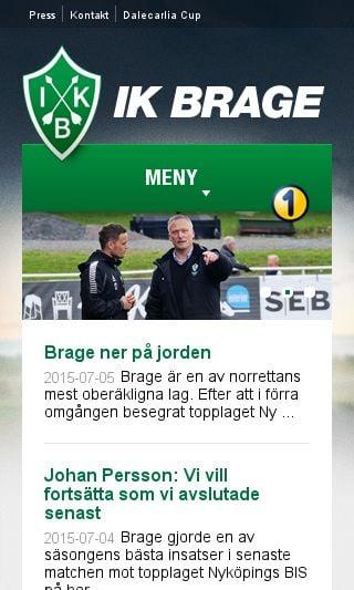 Mobile preview of ikbrage.se