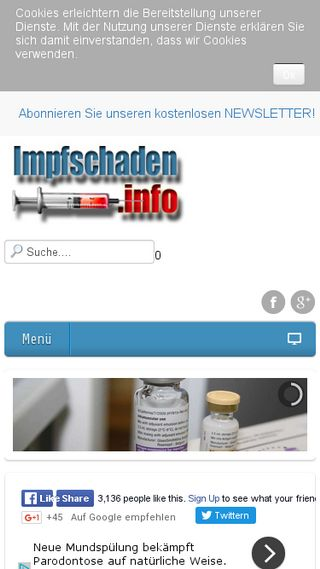 Mobile preview of impfschaden.info