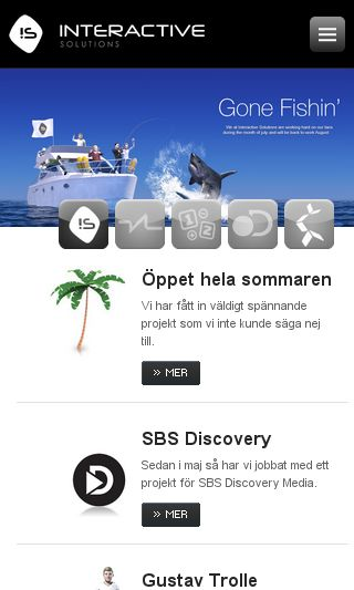 Mobile preview of interactivesolutions.se