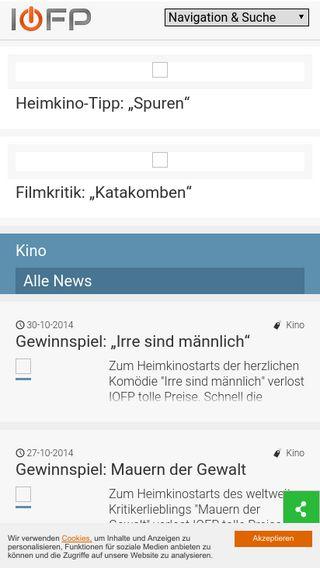 Mobile preview of iofp.de