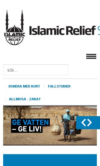 Mobile preview of islamic-relief.se