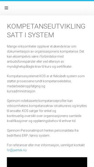 Mobile preview of jaertekhr.no