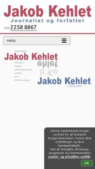Mobile preview of jakobkehlet.dk
