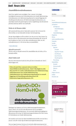 Mobile preview of jamombud.se