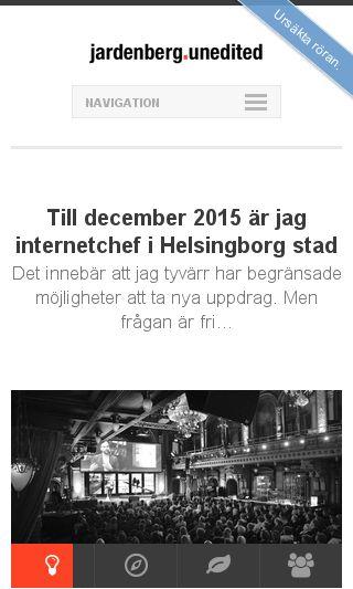 Mobile preview of jardenberg.se
