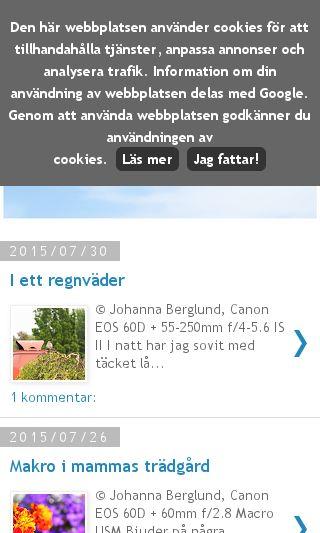 Mobile preview of johannaewa.se
