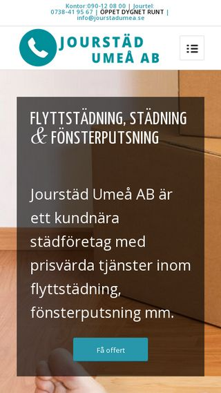 Mobile preview of jourstadumea.se