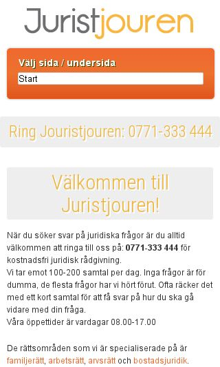 Mobile preview of juristjouren.se