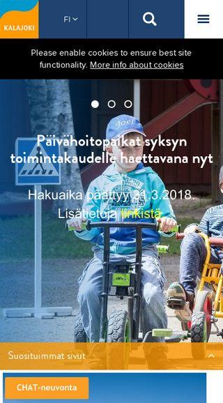 Mobile preview of kalajoki.fi