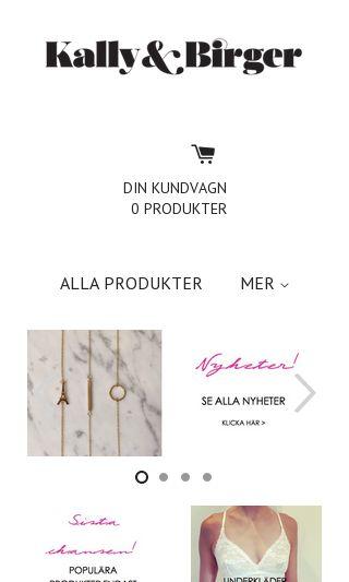 Mobile preview of kallybirger.se