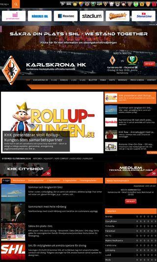 Mobile preview of khk.se