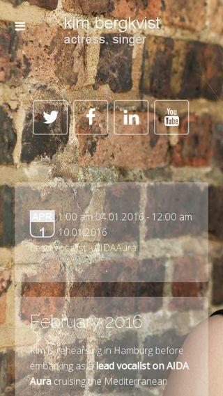 Mobile preview of kimbergkvist.se