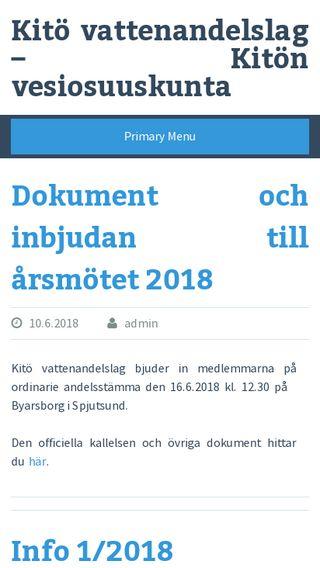 Mobile preview of kitoval.fi