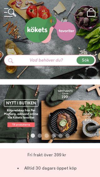 Mobile preview of koket.se
