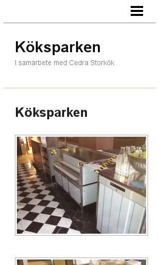 Mobile preview of koksparken.se