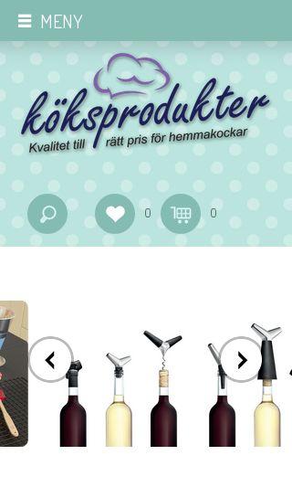 Mobile preview of koksprodukter.se