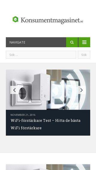Mobile preview of konsumentmagasinet.se