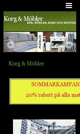 Mobile preview of korgmobler.se