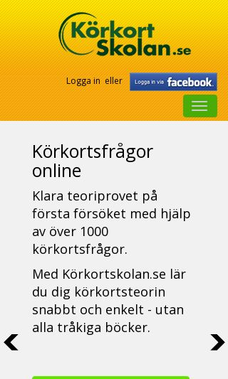 Mobile preview of korkortskolan.se