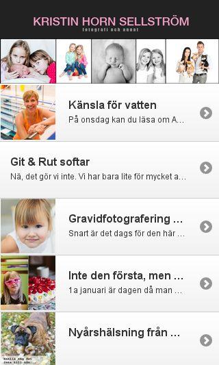Mobile preview of kristinhorn.se