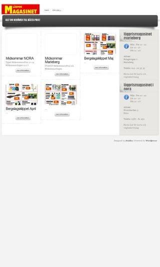 Mobile preview of lagprismagasinet.se
