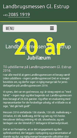 Mobile preview of landbrugsmessen.dk
