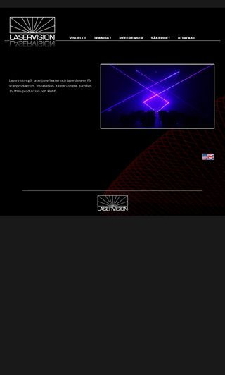 Mobile preview of laservision.se