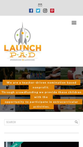 Mobile preview of launchpad4kids.org