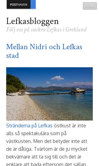 Mobile preview of lefkasbloggen.se