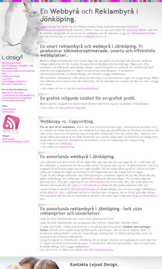 Mobile preview of lejout.se