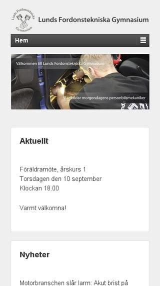 Mobile preview of lftg.se