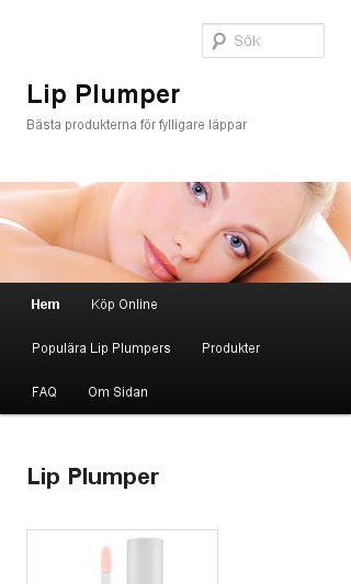 Mobile preview of lip-plumper.se
