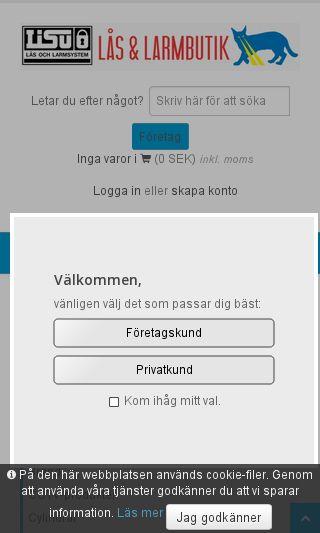 Mobile preview of lisu.se