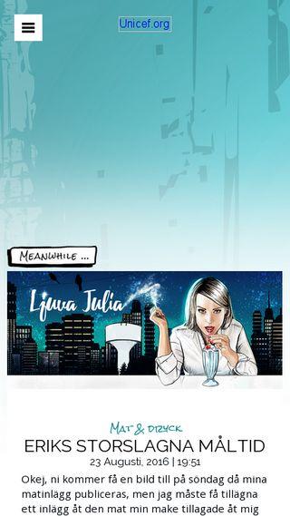 Mobile preview of ljuvajulia.se