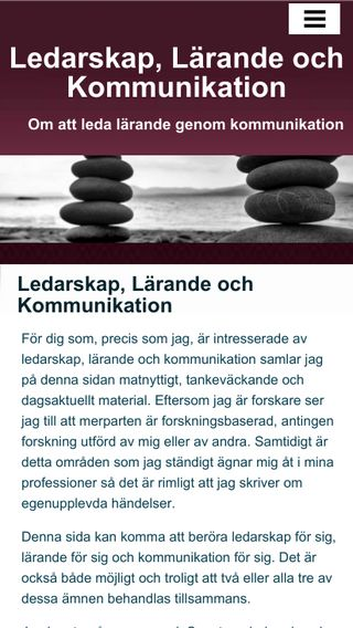 Mobile preview of llkom.se