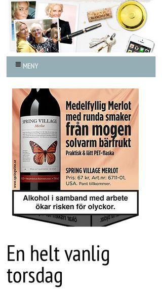Mobile preview of magdalenagraaf.se