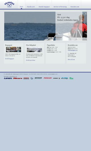 Mobile preview of malarbatar.se