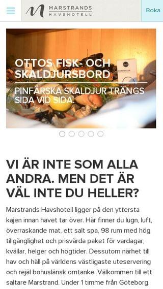 Mobile preview of marstrands.se