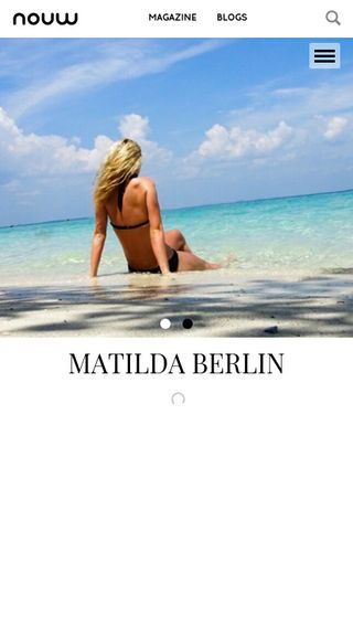Mobile preview of matildaberlin.se