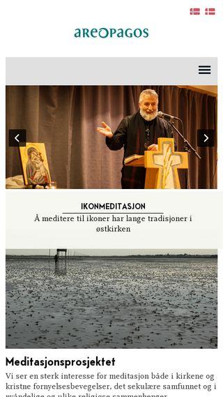 Mobile preview of meditasjoner.no