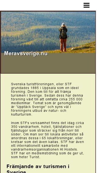 Mobile preview of meravsverige.nu
