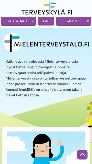 Mobile preview of mielenterveystalo.fi