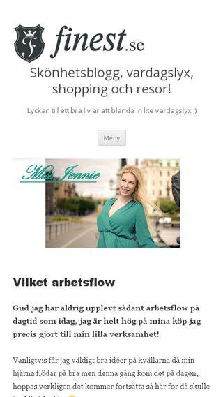 Mobile preview of missjennie.se