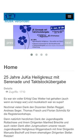 Mobile preview of mk-heiligkreuz.de