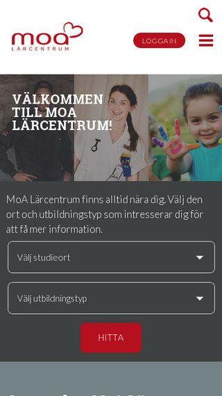 Mobile preview of moa-larcentrum.se