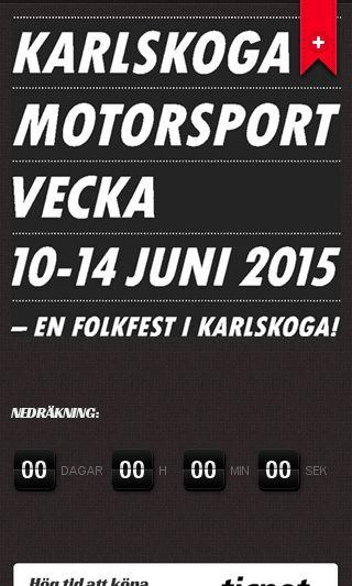 Mobile preview of motorsportveckan.se