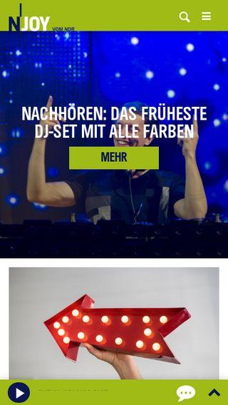 Mobile preview of n-joy.de