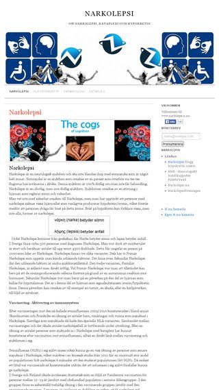Mobile preview of narkolepsi.n.nu