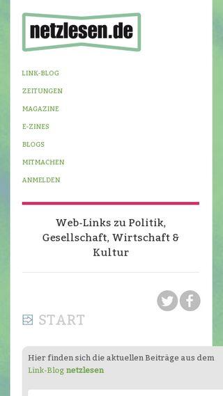 Mobile preview of netzlesen.de