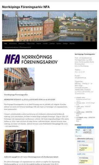 Mobile preview of nfarkiv.se
